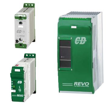 REVO S  – Tyrystorowy regulator mocy, jednofazowy